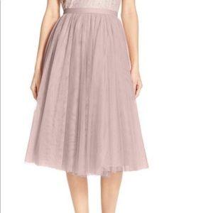 Jenny Yoo, Lucy Midi Tulle Skirt sz8 Vintage Iris